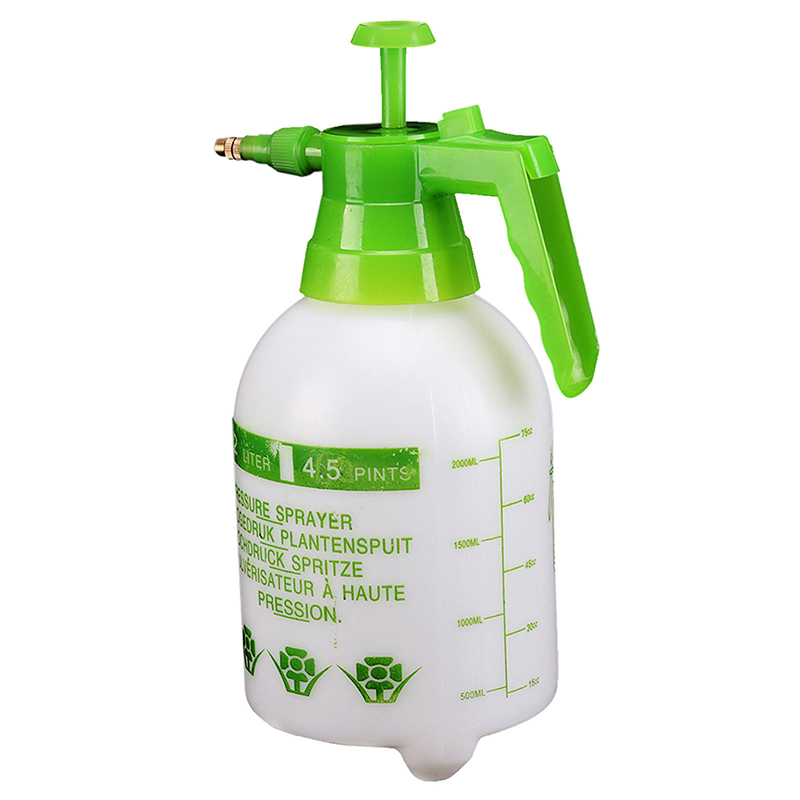 1pc 2L Hand Sprayer Bottle Garden/Greenhouse Sprinkler Pressure Pump Spray Bottles Plant Watering Pot Mayitr
