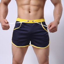 Quick dry Clothing Men's Casual Shorts Household Man Shorts G Pocket Straps Inside Trunks Beach Shorts