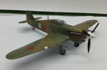 1:72 Simulation model of Soviet air force hurricane fighter model Trumpeter finished 37266 Collection model(China)