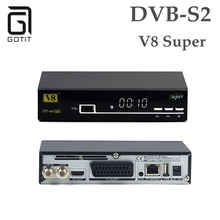 Openbox V8 Super support CCCAM USB WiFi Satellite Receiver Receptor 3G WiFi DVB-S2 Youporn Biss Power VU CCCAM Newcamd Tv Box