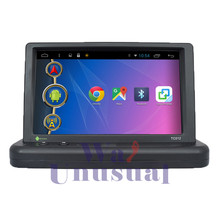 "New 7""Android Portable Car Pad stereo DVR Minitor for Universal Auto GPS Navigation with 1080P DVR+Navi+4G+Quad Core16G+1024*600"