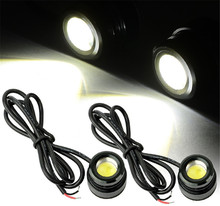 2pcs Car Styling DIY Eagle Eye Light 3W Waterproof Eagle Eye LED Daytime Running/Brake Lamps / Car Lights/Parking/Back Up Light