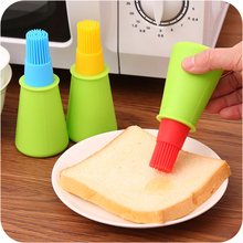Silicone BBQ Oil Bottle Basting Brushes for Home Baking Cooking Pastry grill barbecue Cream Cake Tools