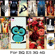 Silicone Plastic Phone Case For BQ Aquaris E5 3G 4G Version BQ aquaris e5S Housing Bag Cover Skin Shell For BQ Aquaris E5 Case