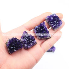 Buy doxa 1PC Uruguay Natural Amethyst Geode Crystal Quartz for $9.99 in AliExpress store