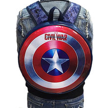 Captain America Backpack Deadpool Pokemon Go Iron Man Fashionable Backpack Cosplay Costume Accessory Props Marvel the Avengers