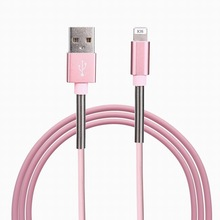 Buy Metal Spring Data Sync Charging Micro USB Cable Samsung Xiaomi Huawei Android Phone Charger Cables iPhone 7 7 Plus 6 5S for $1.59 in AliExpress store