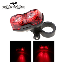 Bright Bike Bicycle Lights 2 LED 3 Mode Bicycle Cycling Back Tail Light Safety Flashing Rear Lights