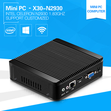 Cheaper Mini PC Fanless Computer Celeron N2930 1.83GHz Quad-Core Server Linux Windows 4G Ram computadores USB 3.0(China)