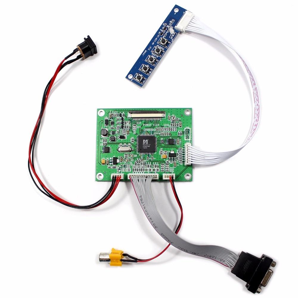 VGA AV LCD Driver Board Work For PD035VX2 3.5 640x480 LCD Screen<br>