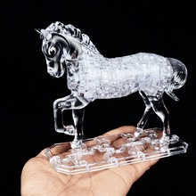 Toy Horse 3d Crystal Puzzle Models(China)