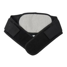 Lumbar Support Back Waist Support Adjustable Tourmaline Self-heating Magnetic Therapy Waist Belt Brace Double