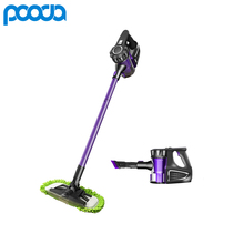 Pooda 2-in-1 Handheld Vacumm Cleaner Wireless Upright Sweeping Machine Cordless Vacuum Cleaner Robot for Home with Floor Mop(China)