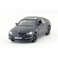 RMZ City Benz CLS63 AMG 1:36 Toy Vehicles Alloy Pull Back Mini Car Replica Authorized By The Original Factory Kids Toys Coupe
