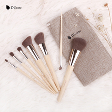 DUcare Makeup Brushes  7pcs Bamboo Foundation Eyeshadow Concealer Eyeliner Brushes Cosmetic kwasten make up