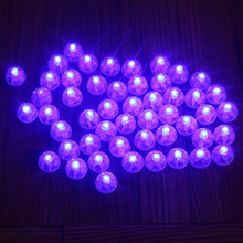 LED light bulb lamp mulit color option for helium balloon Paper Lantern craft DIY Birthday Wedding Party decoration Wh