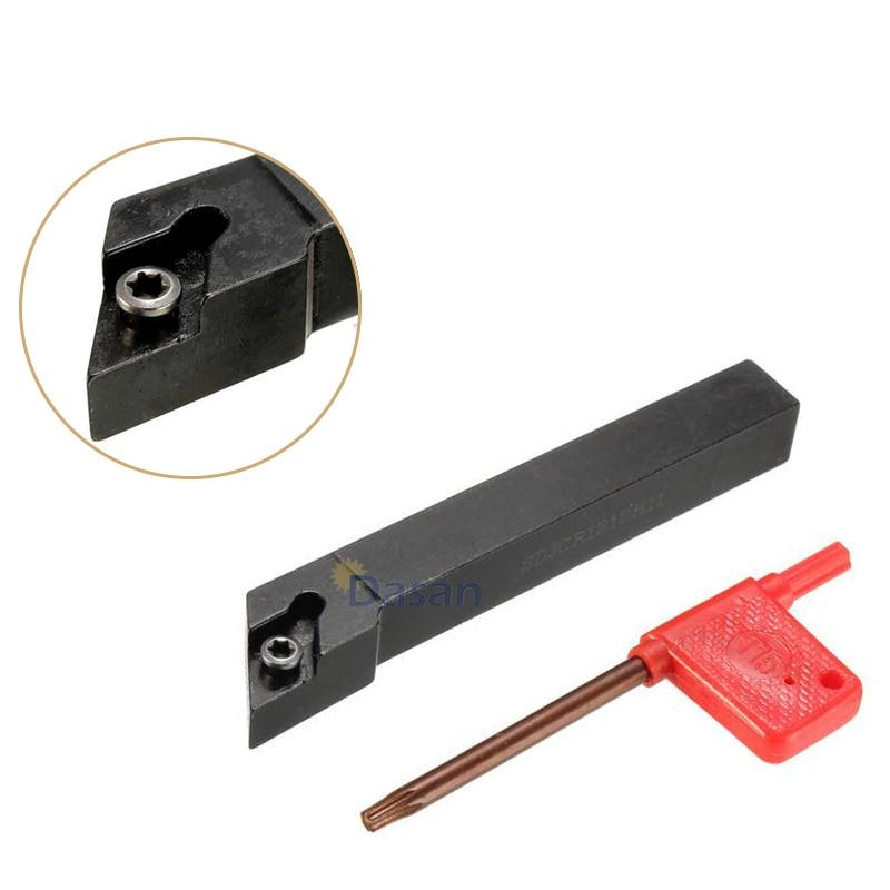 SDJCR1212H11 12 x100mm  Turning Tool Holder 10PCS DCMT11T304 UE6020