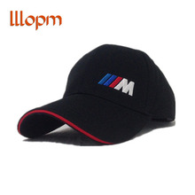 Men Fashion Cotton Car logo M performance Baseball Cap hat for bmw M3 M5 3 5 7 X1 X3 X4 X5 X6 330i Z4 GT 760li E30 E34 E36 E38(China)
