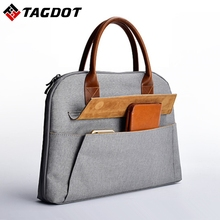 Brand stylish Office women's laptop bags 13.3 15 15.6 inch Men's Business Notebook Bag for macbook ari 13 bag
