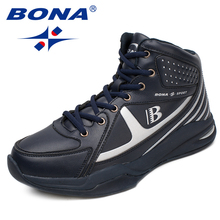 BONA New Arrival Style Men Basketball Shoes Lace Up Men Athletic Shoes Outdoor Jogging Sneakers Comfortable Fast Free Shipping(China)
