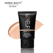 Brand HERES B2UTY Strong Isolation Perfect Cover BB Cream SPF30 Pa+++ Nude Glow Skin Whitening Compact Foundation Makeup 35g(China)