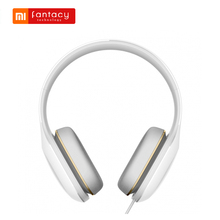 Original Xiaomi Mi headphones Comfort 107dB Xiaomi Hi-Res Audio Headset With Mic 1.4m Wire 3.5mm Headphone Jack Noise Cancelling(China)