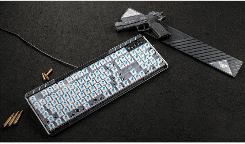 Backlit Wired Rest Keyboard 19