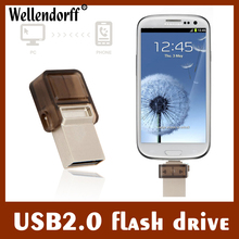 Clean up inventory OTG USB Flash Drive 8GB USB Pen Drive OTG External Micro USB Stick Memory Full Capacity Pendrive