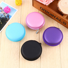 Portable Earphone Wire Storage Pouch Bag Soft Headset Earbuds Box SD Card Box for Earphone Headphone TF Cards Box