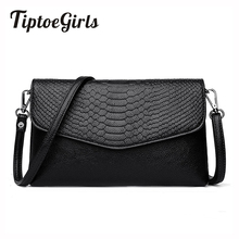 Korean Version of the New Fashion Personality Crocodile Temperament Shoulder Messenger Bag Wild Casual Temperament Clutch(China)