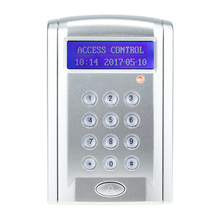 125KHz/13.56MHz RFID Keypad Controller Single Door Entry Access Control Stand Alone Smart Door Lock RFID Time Attendance