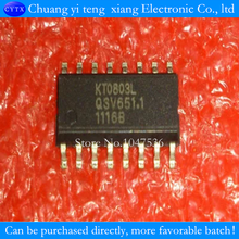 10PCS/LOT KT0803L SOP-16 FM stereo transmitter chip 100% good