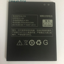 100% Original Backup BL219 2500mAh Battery Use for Lenovo A880 S856 A889 A890e S810t A850+ A916(China)