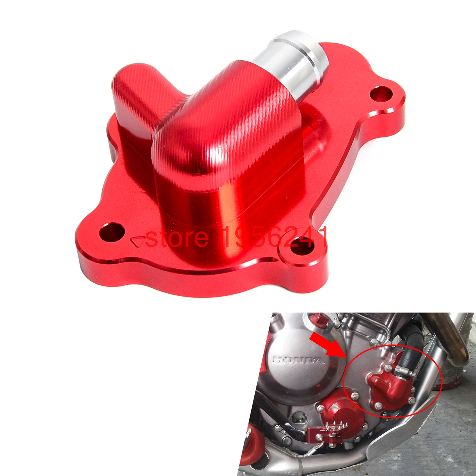 CNC Billet Aluminum Water Pump Cover Protector for Honda CRF250L CRF250M 2012 - 2015 2013 2014 CRF250 L M<br>