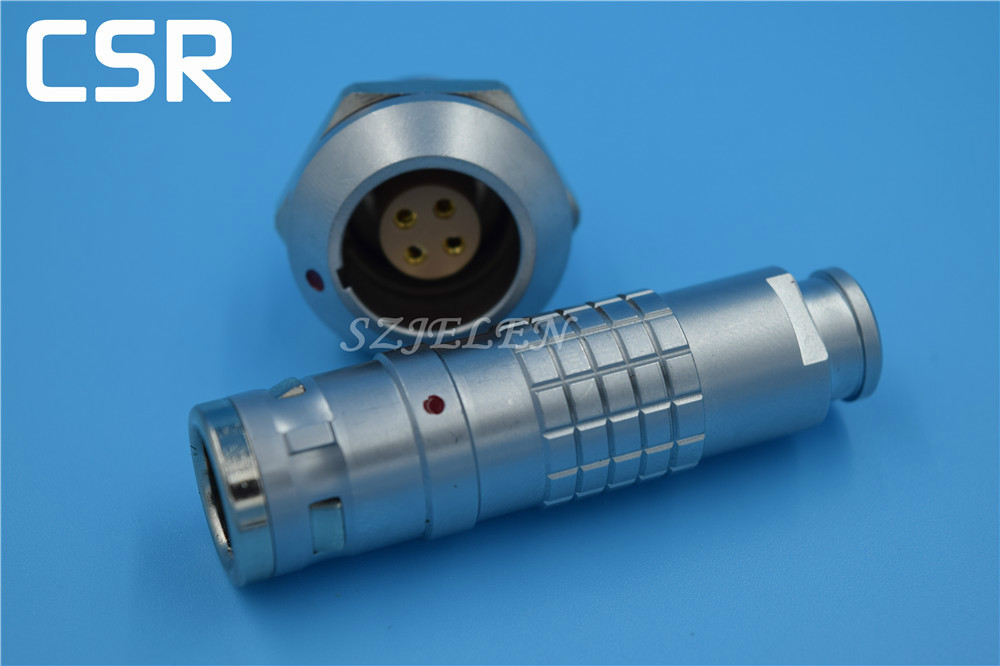 Lemo 4 pin Male and female waterproof  connector , Automotive connectors, medical connectors , IP68, FGG/EGG.1K.304.CLAD<br><br>Aliexpress