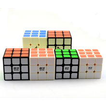 New QiYi Mofangge 3x3x3 6.8/6.0/5.6cm Magic Puzzle Cubes Profissional Competition Speed Twist Magic Cube Cool Toys For Boy(China)