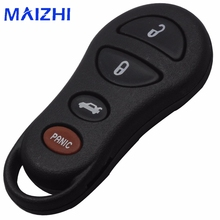 10ps 4 Button Remote Keyless Key Fob Shell Case For Jeep Liberty Dodge Intrepid Stratus Viper Chrysler Sebring LHS Concorde 300m(China)