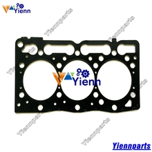 Kubota 3D78 D1105 Cylinder head gasket 16261-03310 1E038-03310 Steel made for kubota B2400HSE tractor D1105 diesel engine parts(China)