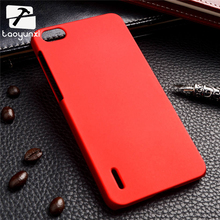 TAOYUNXI Plastic Phone Case For Huawei Honor 6 Cover Slim Frosted Matte Phone Back Cover Hard Plastic Cell Phone Case XJQ(China)