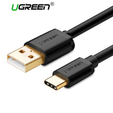Ugreen 2A USB Type C Cable Fast Charging Type-C Data Charger Cable USB Cable for Nexus 6P 5X Nintendo Switch Samsung S8 LG V30(China)