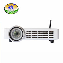 Everyone Gain 3D Smart Projector with BT WiFi DLP tech Proyector Ultra focus Beamer DH-A100W(China)