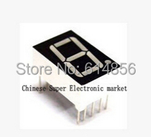 10PCS 0.56inches 7 Segment 1 Digital LED Display Super Red Common Cathode(China)