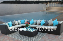 new desgin outdoor rattan furniture sofa set