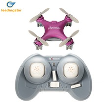 LeadingStar Cheerson CX-10SE Mini Drone CX-10 4CH 6 Axis LED RC Helicopter with Switchable Controller for kids & Beginners Toy(China)