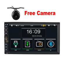 2 DIN Car radio / GPS / MP3 / mp5 / usb / sd / player Bluetooth Handsfree Rearview after Touch screen hd system Radio BT