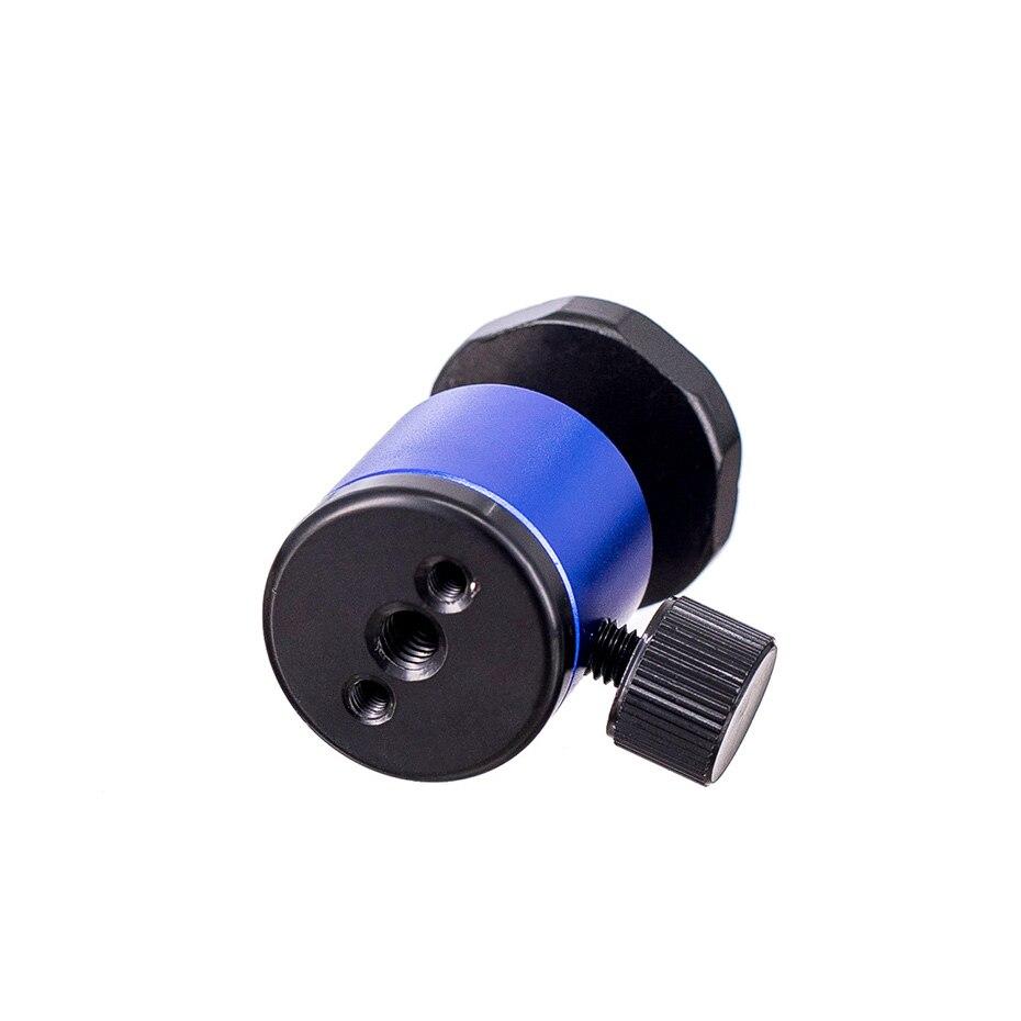 TiYiViRi For Camera Tripod Mini Ball Head Ballhead Tabletop Tripod Stand 14 Hot Shoe Adapter for Canon DSLR Camera Camcorder (5)