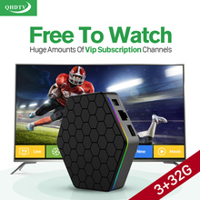 Dalletektv Europe Arabic IPTV Channels TV Receiver T95ZPLUS Android 6.0 Smart TV Box 3GB RAM S912 Live Iptv Set Top Box