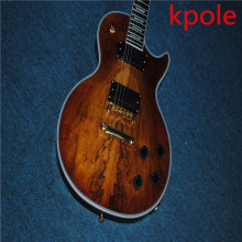 Custom shop Kpole LP electric guitar,mahogany solid LP guitar,EMG pickups,Free shipping(China)