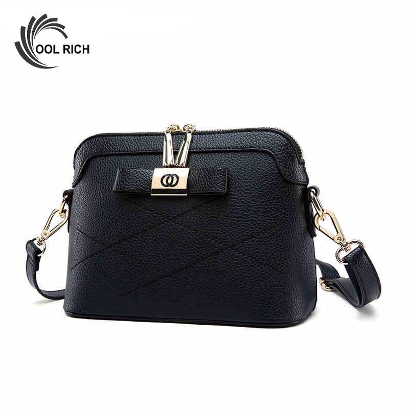 2017 Shell Designer Women-Messenger-Bags Small Leather Handbags Bow Shoulder Bag Ladies Crossbody High Quality Plaid Bolsa Mujer<br><br>Aliexpress