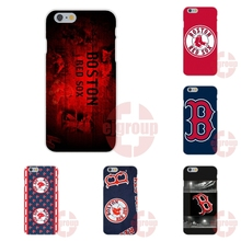 Soft TPU Silicon Phone Case Cover Mlb Boston Red Sox Bos Baseball For Huawei G7 G8 Y5II Y6II  Y6 Pro P9 Lite